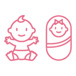 Babies and Toddlers Icon
